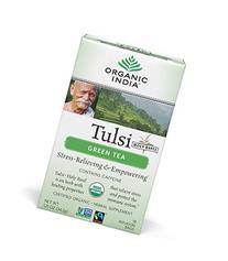 ORGANIC INDIA Tulsi Green Tea - Delicious Holy Basil and