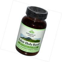 Organic India Tulsi Holy Basil 90 Vegetarian Capsules
