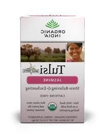 Organic India Tulsi Tea Jasmine, 18-Count