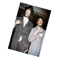 Tupac & Snoop Dogg  Music Poster Print