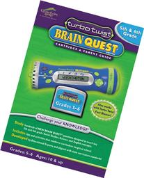 LeapFrog Turbo Twist 5th & 6th Grade Brain Quest Cartridge