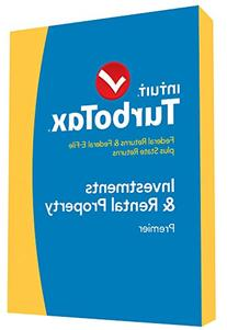 TurboTax Premier 2014 Fed + State + Fed Efile Tax Software