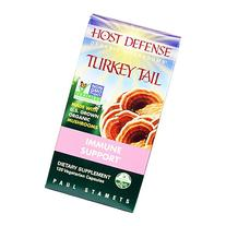 Host Defense - Turkey Tail Capsules, Immune Support, 120