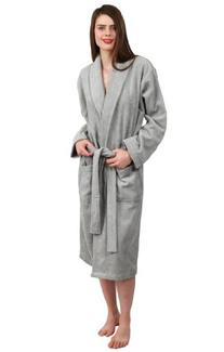 TowelSelections Turkish Cotton Bathrobe Terry Shawl Robe for