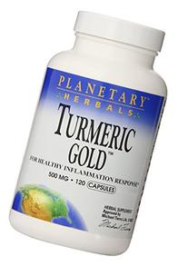 Planetary Herbals Turmeric Gold 500 Mg, 120 Count