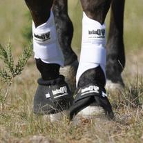 Cashel No Turn Bell Boots for Horses, Equine - Pair - Size: