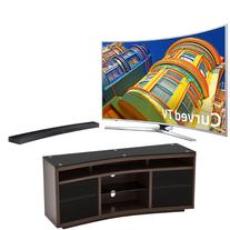 "Samsung TV Bundle: 65"" 4k UHD Smart TV / Curved Soundbar /"