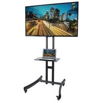 VIVO TV Cart for LCD LED Flat Screen Mount Stand w/ Mobile