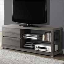 Monarch TV Console in Dark Taupe