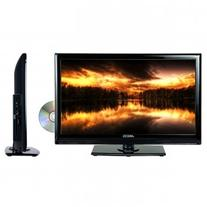 "TVD1801-22 22"" LED AC/DC TV with DVD Player Full HD with"