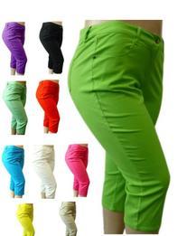NEW 1826 Twill CAPRI Pants High Waist Womens Plus Size /