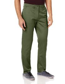Fred Perry Men's Twill Chino, Olive 1964, 32 Regular