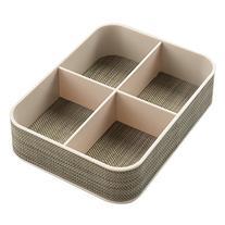 InterDesign Twillo Office Supplies Desk Organizer Tray for