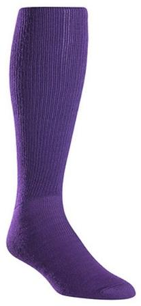 Twin City Youth All Sport Solid Color Tube Sock, Purple