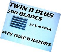 Personna Twin II Plus - 500 Blades
