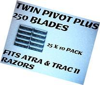 Personna Twin Pivot Plus - 250 Blades