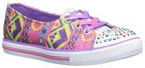 Skechers Kids 10470L Chit Chat Light-up Sneaker ,Pink/Multi,