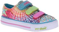 Skechers Kids 10383L Light-Up ,Multi,4 M US Big Kid