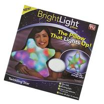 Bright Light Twinkling Star Pillow