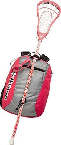 Maverik Lacrosse Twist Beginner Package, Pink
