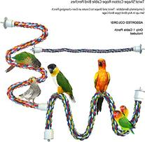 Twist'N'Shape Cotton Rope Cable Bird Perches