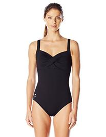 TYR Women's Twisted Bra Solid Controlfit Top