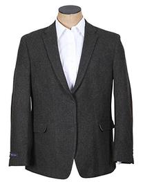 Tommy Hilfiger Men's Two Button Side Vent Willow Shetland