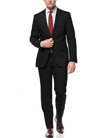 Nicoletti Two Button Slim Fit Men's Suit Working Button