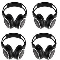 4 Pack of Two Channel Folding Universal Rear Entertainment