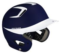 Easton Two-Tone Natural Grip Junior Batting Helmet, Navy/