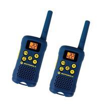 Two-Way Radio with 16 Mile Range - Gray -Motorola