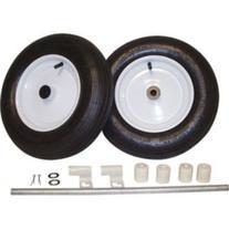 Two-Wheel Conversion Kit for Wheelbarrows