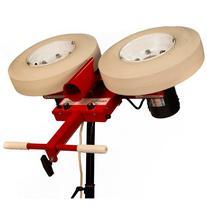 First Pitch Two Wheel Curveball Baseball Pitching Machine Up