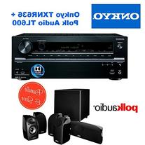 Onkyo TX-NR636 7.2-Channel Network A/V Receiver + Polk Audio