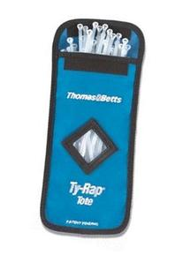 """Thomas & Betts TY-TOTE-25 Ty-Rap Cable Tie Tote with 8"""" Ty-"""