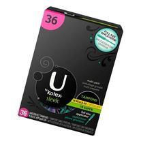 U by Kotex Sleek Super Tampons, 36 Count