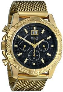 GUESS Men's U0205G1 Sporty Stainless Steel Multi-Function