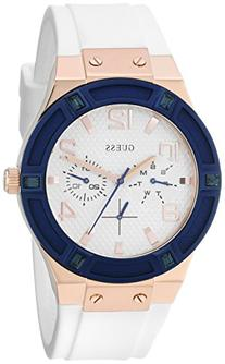 GUESS Women's U0564L1 Sporty Rose Gold-Tone Stainless Steel