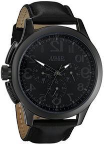 GUESS Men's U10628G1 Black Modern Details Casual Sport Watch