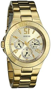 GUESS Women's U12631L1 Active Shine Gold-Tone Watch