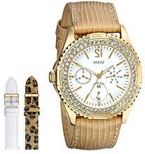 GUESS Women's U13597L1 Feminine Classic Gold-Tone Watch with