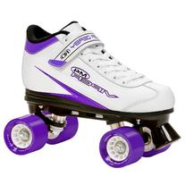 Roller Derby U724W-09 Viper M4 Womens Speed Quad Skate White