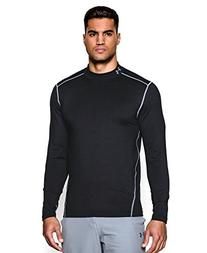 Under Armour Men's UA ColdGear Evo Fitted Mock Large Black