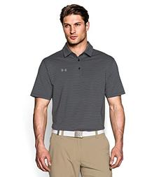 Under Armour Men's Playoff Polo, Asphalt Heather/Steel,