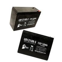 2x Pack UB12100-S Universal Sealed Lead Acid Battery