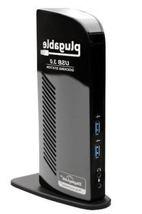 Plugable USB 3.0 Universal Laptop Docking Station for