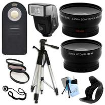 Ultimate Accessory Package for Canon EOS T1i, T2i, 550D, T3