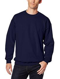 Hanes Men's Ultimate Heavyweight Fleece Sweatshirt, Black, X