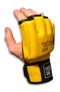 MMA Ultimate Gloves Yellow