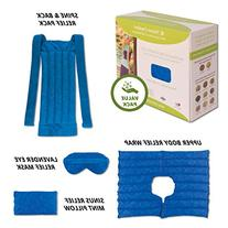 Ultimate Set- Herbal Heating Pad for Neck, Shoulder, Back,